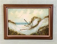 Original Painting on Canvas by Raymond