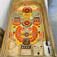1948 Wisconsin Pinball Machine, Coin Operated