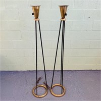 "Possibly Lightolier Lamps? Gerald Thurston? 60""h"