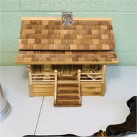 Wooden House/Jewelry Box, Candle stick Holder