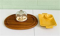 2 Serving Trays, Goodwood Wood Tray