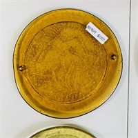 George Briard Serving Tray, 4 Astrology Glass Pads