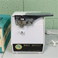 NOS, Magic Hostess Electric Can Opener in box