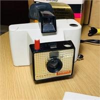 3 Polaroid Cameras and a Flash, Land Camera