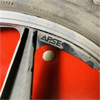 Set of Aluminum Mags, APSE, Mongoose 20x2.0 Tires
