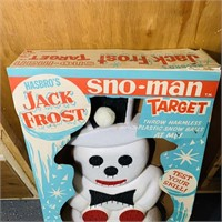 Hasbro's Jack Frost Sno-man Target Game