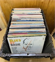 Tote full of all kinds of good records