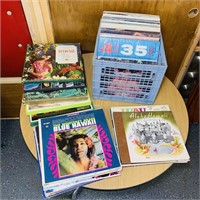 75 Hawaiian Record Albums and Sets