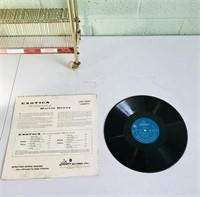Vintage recorder holder with Denny Martin's