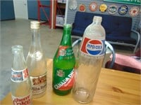 4 Collectable Bottles