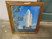 USA Space Shuttle Discovery Picture - 20 x 24