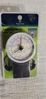 Protege luggage scale with tape measure, new