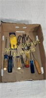 Assorted Phillips screwdrivers and bits