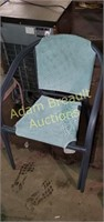 2 metal frame 30 in patio chairs