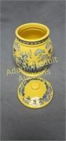 Spode L0407 glazed ceramic 7in urn