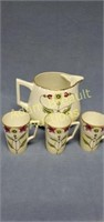 Je-Oh Nippon hand-painted porcelain teapot and