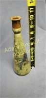 11 inch decorative glaze pottery bird vase