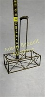 12 in wire decorative bottle carrier