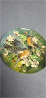 1986 Knowles The Bluebird Collector Plate