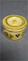 6 in hand-painted made in Japan pottery covered