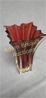 Vera Wang 7.5 in glass decorative vase