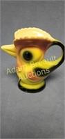 Vintage 6 in chicken pitcher