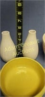 5 pieces assorted pottery