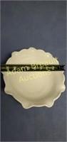 Vintage Westmoreland 9-inch grape milk glass bowl