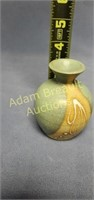 3 pieces assorted Pottery vases