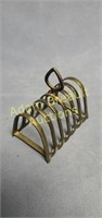 Vintage silver plated toast rack