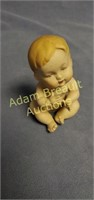 Piano baby 4.5 in porcelain figurine
