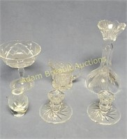 6 pieces leaded crystal glass