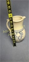 10 inch signed decorative Pottery pitcher