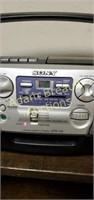 Sony CD radio cassette-corder CFD-V5, works