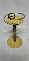 3 assorted metal decorative candelabras