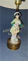 Vintage Colonial porcelain figurine 17 in table