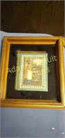 3 ornate framed wall prints