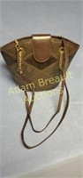 Women's faux leather 13 in purse,  good condition