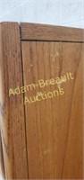Vintage Oak 6 drawer armoire dresser