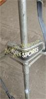 Vintage AJ Sports 1050 aluminum golf pull cart
