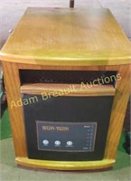 Sun twin quartz infrared portable heater with