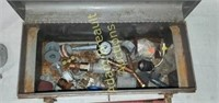 Sears Craftsman metal 18 in tool box with
