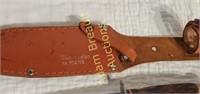 Globemaster No. 61470B hunting knife w/ leather