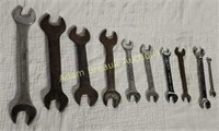 10 double open-end wrenches