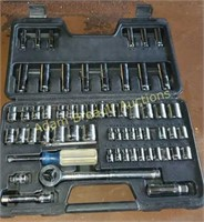 Sears Craftsman 60-pc ratchet set, standard and
