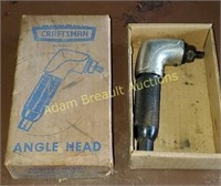 Craftsman angle head attachment,  model 605.18500