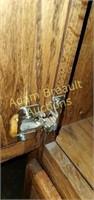 Vintage Oak entertainment bar, good condition but