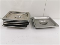 1/6 Size S/S Steam Pan Cover