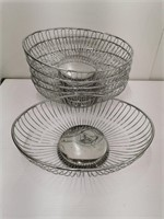 Oval Wire Display Basket