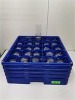 High Quality Tall Mix Glass & Dishwasher/Storage